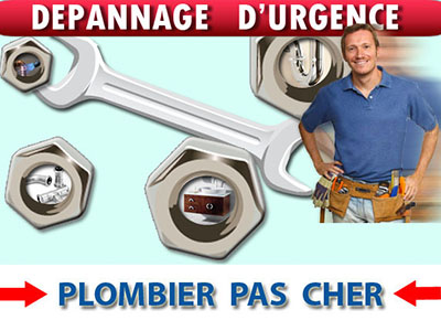 Degorgement wc Belloy en France 95270