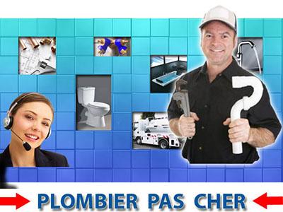 Degorgement wc Le Plessis Bouchard 95130