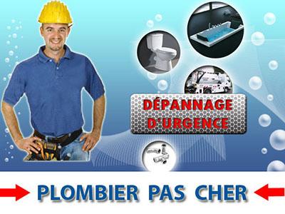 Degorgement wc Menucourt 95180