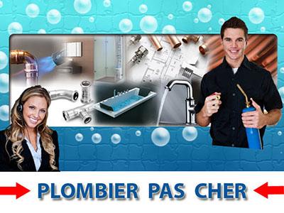 Degorgement wc Puiseux en France 95380